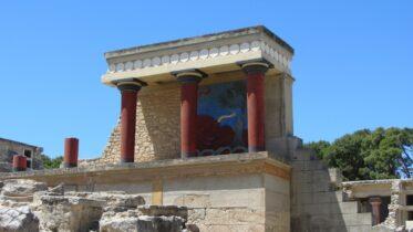 Conoce el magnífico palacio de Cnosos