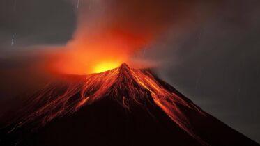 Cuáles son las partes de un volcán