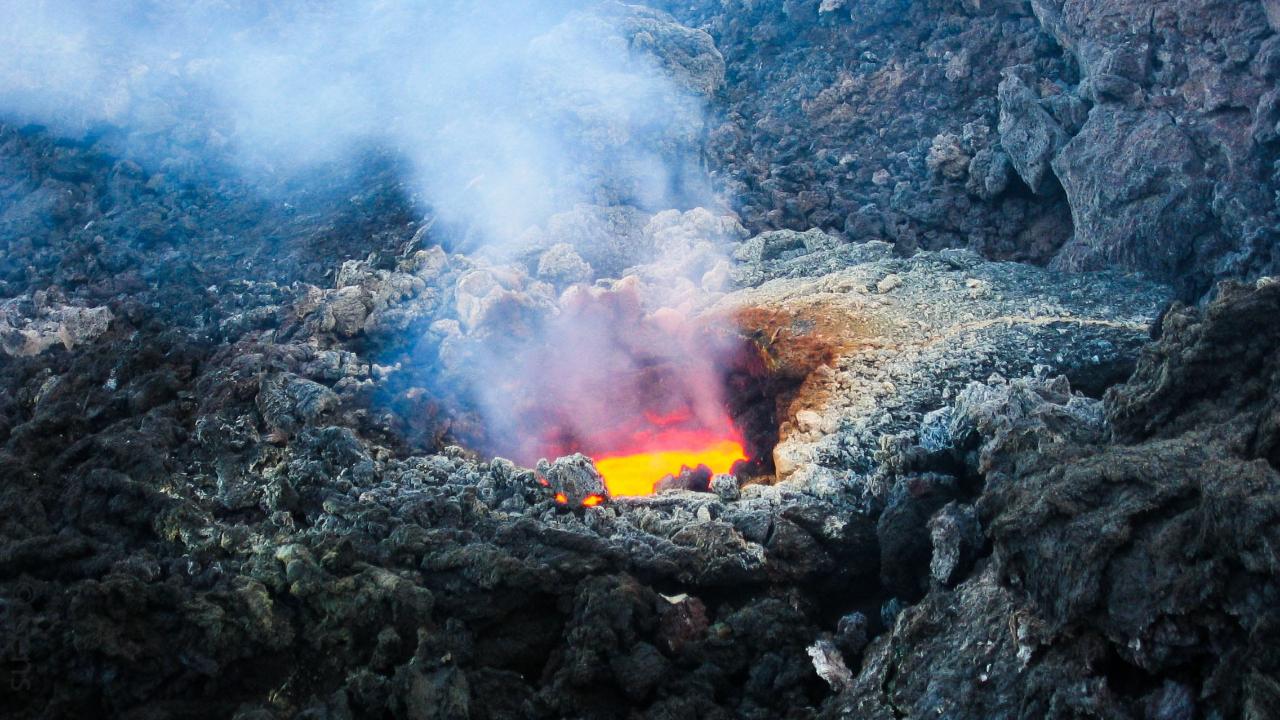 Volcán con mayor probabilidad de erupciones