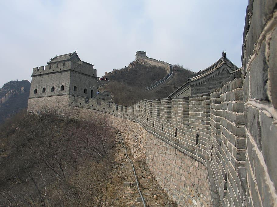 quién construyó la muralla china